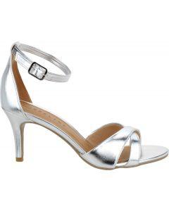 Offline Leilani Ankle Strap Sandal - Metallic Silver