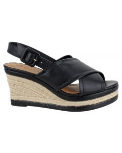 Offline Willow Wedge Sandal - Black