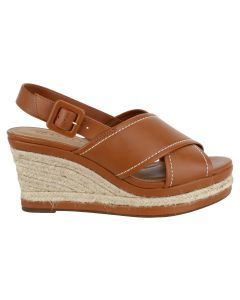 Offline Willow Wedge Sandal - Whiskey