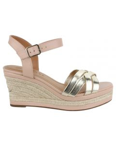 Offline Magnolia Wedge Sandal - Gold/Natural
