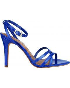 Offline Hazel Stiletto Patent Sandal - Deep Blue